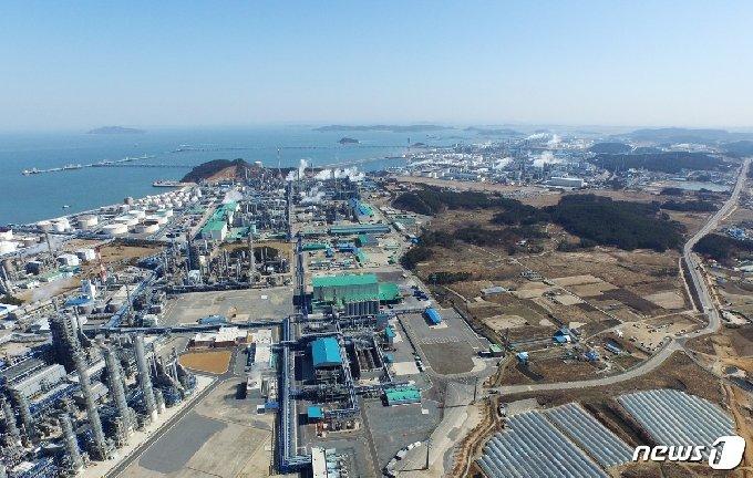 서산 대산공단© 뉴스1