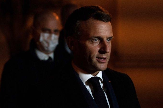 에마뉘엘 마크롱 프랑스 대통령. /AFPBBNews=뉴스1