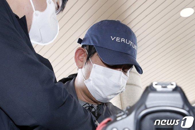 김봉현 전 스타모빌리티 회장. 2020.4.24/뉴스1 © News1 안은나 기자