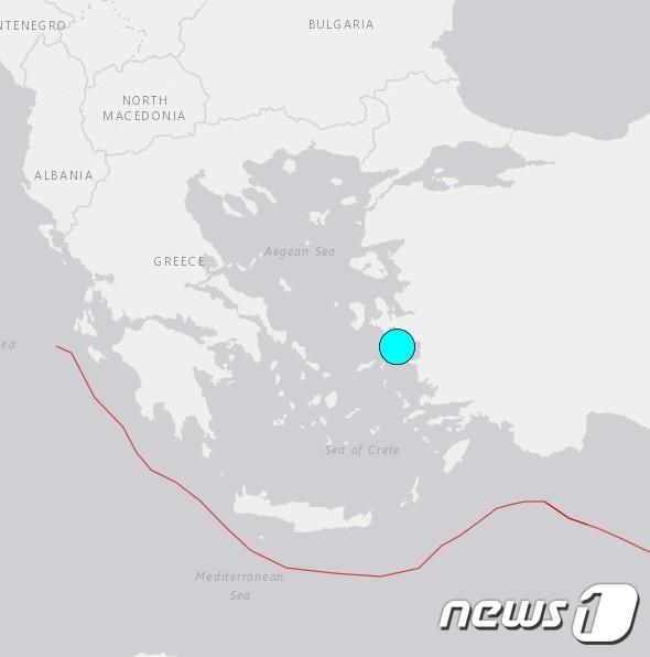 그리스·터키 에게해 규모 7 강진…건물 파손, 아네테도 감지