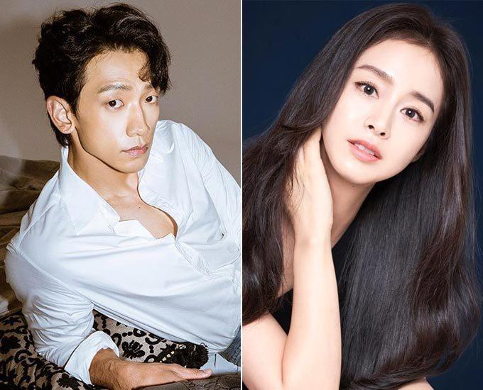 가수 비, 배우 김태희 부부/사진=각 스타 인스타그램