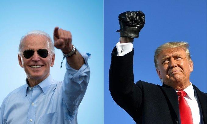 조 바이든 미국 민주당 후보와 도널드 트럼프 현 대통령 /사진=AFP