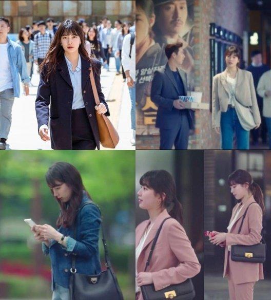 (위)왼쪽부터 '스타트업' 1회 랑방 가방, 2회 에르메스 가방, (아래) 왼쪽부터 2회 살바토레 페레가모 가방, 6회 보테가 베네타 가방./사진=tvN 드라마 '스타트업'