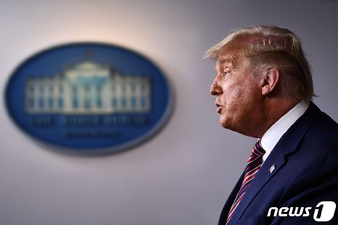 도널드 트럼프 미국 대통령 © AFP=뉴스1