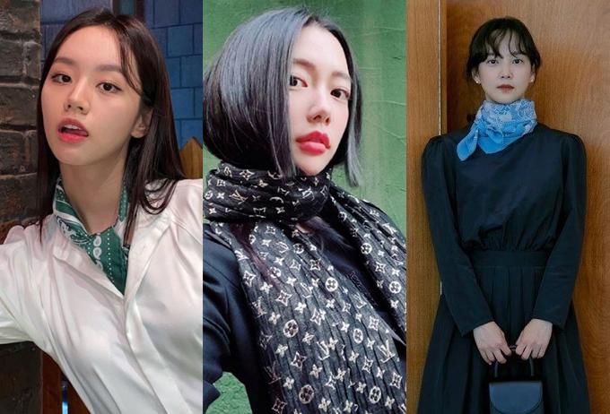 /사진=가수 혜리, 배우 클라라, 윤승아 인스타그램