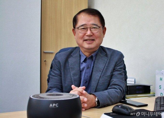김승진 에이피씨테크 대표/사진=고석용 기자