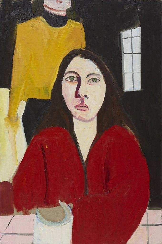 샹탈 조페 'Esme', Oil on canvas. 180×120㎝, 2020. /사진제공=리만머핀 서울