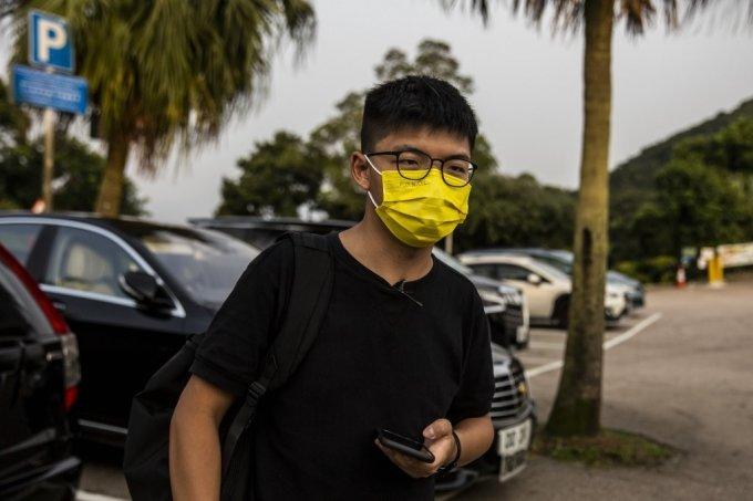 홍콩 민주화 운동 주역인 조슈아 웡. /AFPBBNews=뉴스1