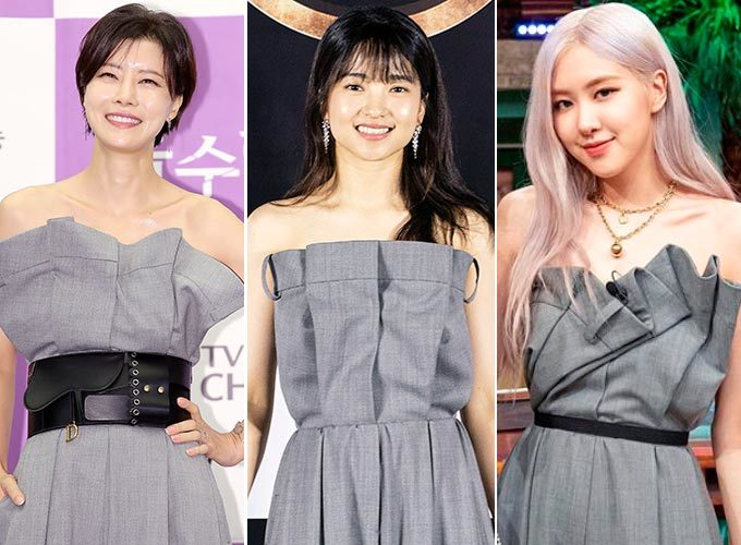배우 유선, 김태리, 그룹 블랙핑크 로제/사진=뉴스1, 앤드크레딧, tvN '놀라운 토요일