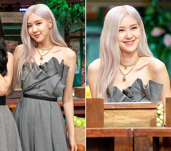 그룹 블랙핑크 로제/사진=tvN '놀라운 토요일-도레미마켓' 인스타그램