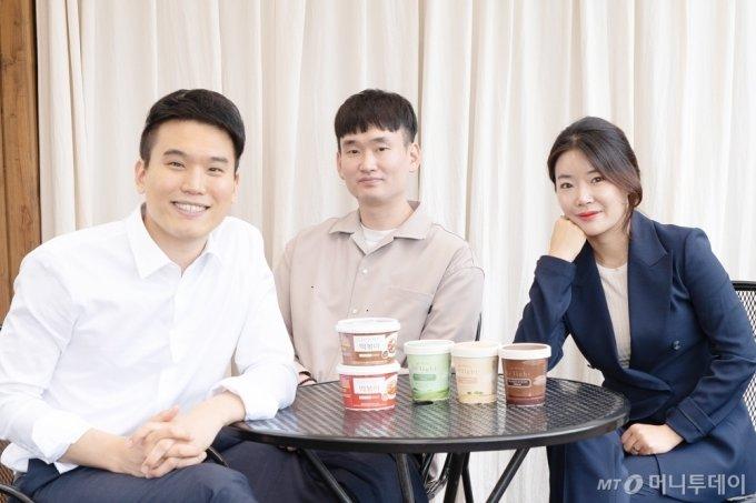 마이비밀 김용운 대표(사진 왼쪽)