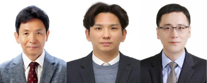 최준선 성균관대 법학전문대학원(로스쿨) 명예교수(왼쪽)와 김준헌 국회입법조사관(가운데), 임동원 한국경제연구원 부연구위원(오른쪽)