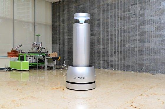 자율주행 방역 로봇/사진=KIST