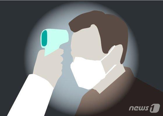 체온검사© News1 김일환 디자이너