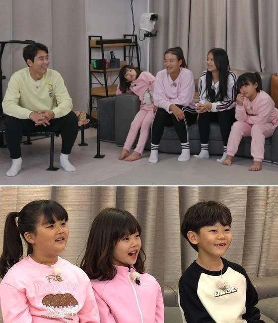 축구선수 이동국의 자녀 5남매./사진제공=SBS '집사부일체'