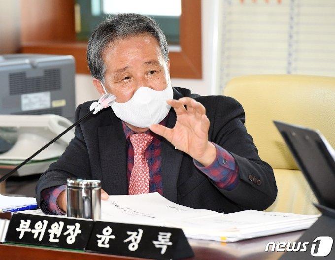 윤정록 울산시의회 국민의힘 원내대표.(울산시의회 제공) /© 뉴스1