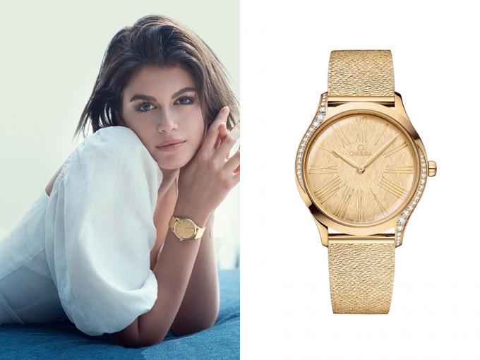 2001년생 금수절 모델, 손목엔 '3270만원' 시계…