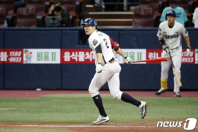 [사진] NC 박민우 '2타점 추가요'