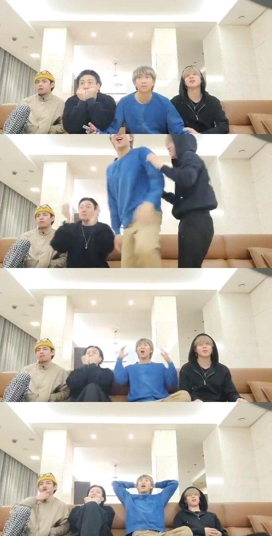방탄소년단 SNS 영상 갈무리 © 뉴스1