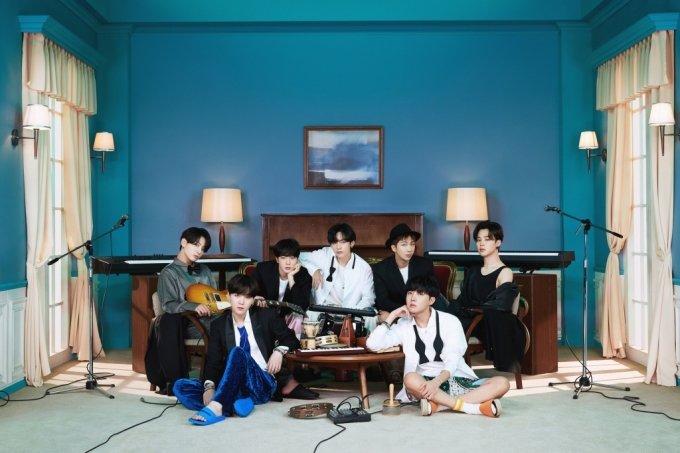 내년 1월 열리는 제63회 그래미 어워즈에서 '베스트 팝 듀오/그룹 퍼포먼스' 후보에 오른 BTS(방탄소년단). /사진제공=빅히트엔터테인먼트