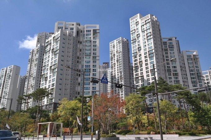 서울 강남구 대치동 래미안대치팰리스 단지 전경. /사진=김희정 기자