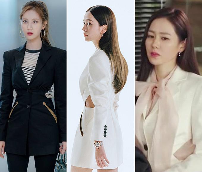 배우 서현, 블랙핑크 지수, 손예진/사진=인스타그램, 코스모폴리탄 제공, tvN '사랑의 불시착' 방송화면