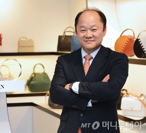 CEO Harry Kim of Harry Textiles / Photo provided by Harry Textiles