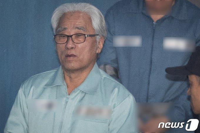 이윤택 전 연희단거리패 예술감독. © News1 유승관 기자