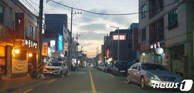 성북동 주점거리. © 뉴스1