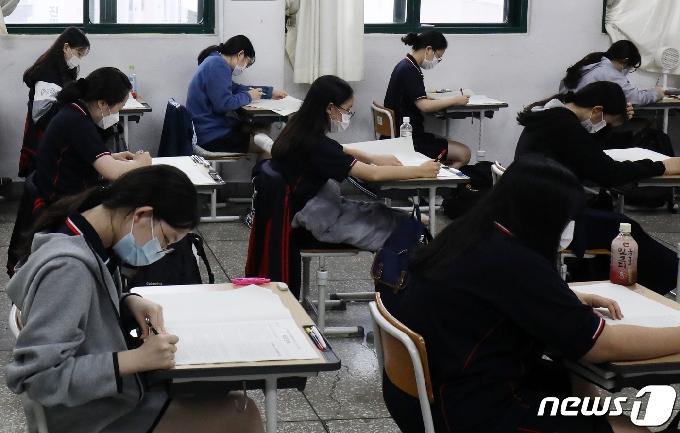 울산 장구대회발 확진자 관련 학생·교직원 1400명 모두 음성