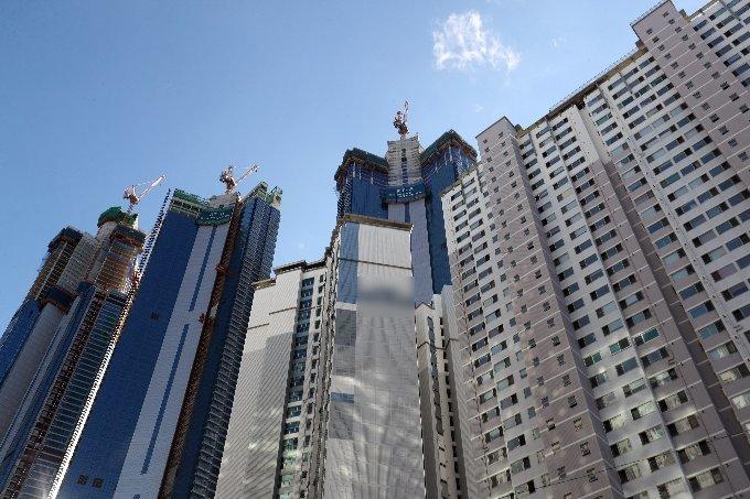 부산 해운대구 한 아파트 단지 /사진=뉴스1