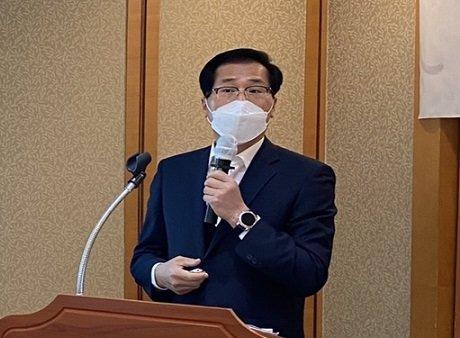박봉근 명신산업 대표. /사진제공=명신산업