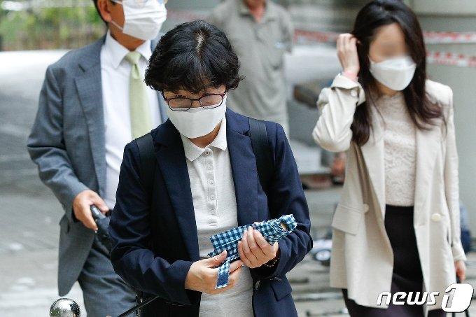 김은경 전 환경부 장관. © News1 안은나 기자