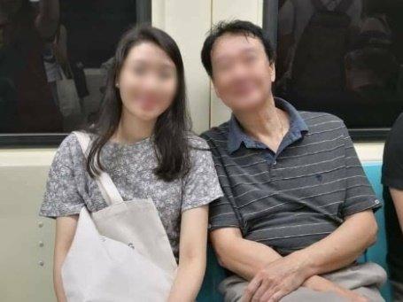 한국에서 유학 중이던 대만 청년 쩡이린(왼쪽)과 그의 아버지. 쩡씨는 지난 6일 서울 강남구에서 음주운전 차량에 치여 안타깝게 목숨을 잃었다./사진=연합보