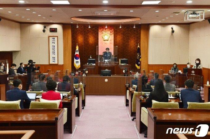 제천시의회.(뉴스1 DB)© 뉴스1
