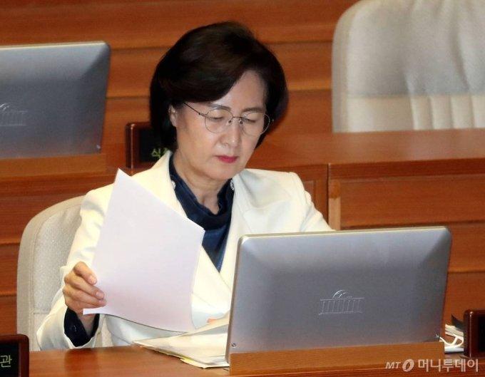 추미애 법무부 장관. / 사진=홍봉진 기자 honggga@