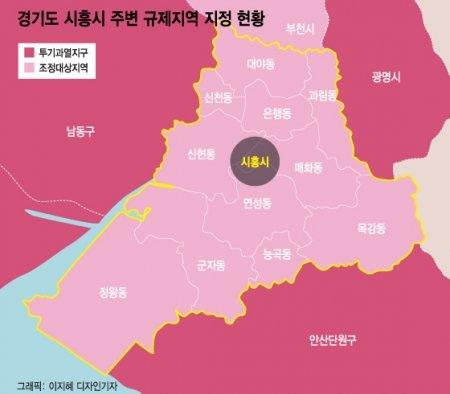 '시흥' 전용 84㎡ 8억 넘었다…규제지역 내 新풍선효과?