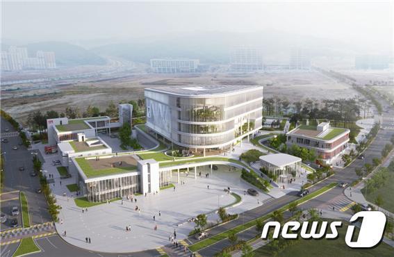 세종시 집현동 복합커뮤니티센터 당선작.© 뉴스1