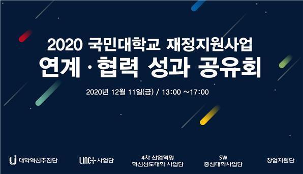 국민대, '재정지원사업 연계·협력 성과공유회' 열어