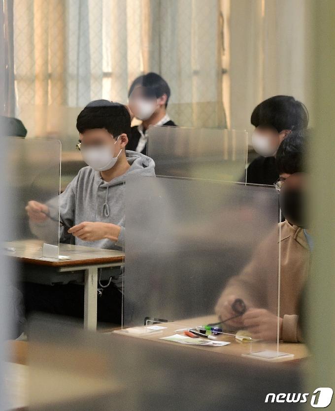인천 4교시 수능 결시율…한국사 19.47%·탐구 영역 19.07%