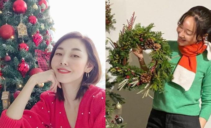 /사진=모델 한혜진, 배우 엄지원 인스타그램