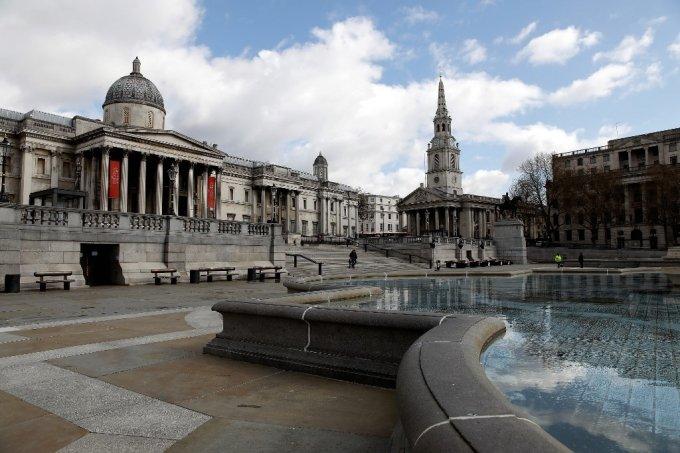 영국 런던의 트라팔가 광장. /AFPBBNews=뉴스1