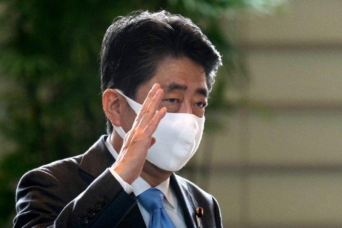 아베 신조 일본 전 총리. /AFPBBNews=뉴스1