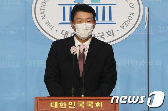 윤희석 국민의힘 대변인. 2020.9.10/뉴스1 © News1 성동훈 기자