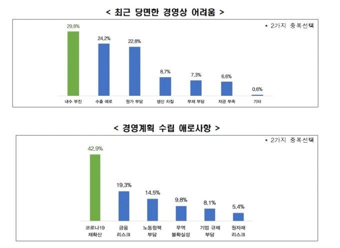 """기업 70% """"내년 경영계획 미확정"""""""