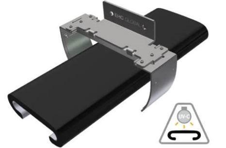 서울바이오시스의 바이오레즈(Violeds) 기술이 적용된 EHC Safety와 핸드레일 살균기 자료사진./사진=서울바이오시스