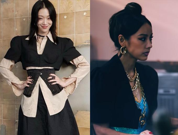 /사진=최소라 인스타그램, 제시 '눈누난나' 뮤직비디오