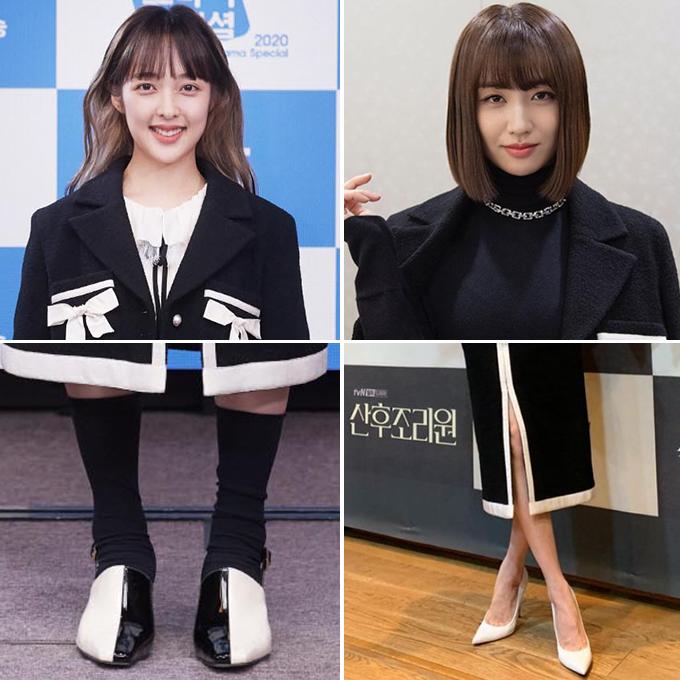 배우 김보라, 박하선 /사진=머니투데이 DB, 인스타그램