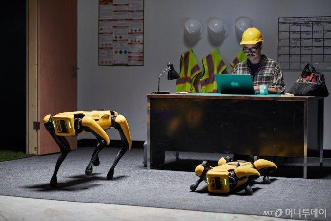 로봇개 스팟/사진제공=현대차그룹
