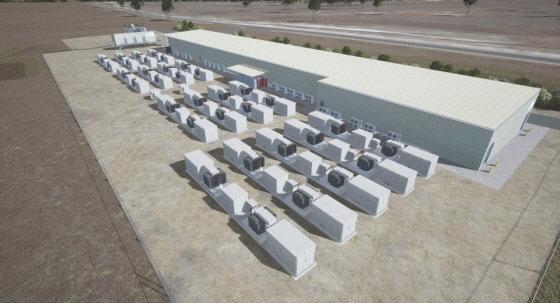 호주 퀸즈랜드 ESS 프로젝트 조감도/사진제공=두산중공업